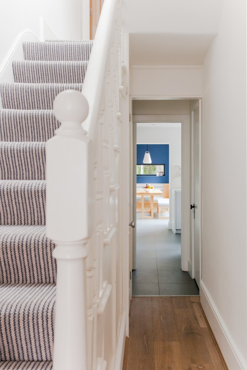 Internal refurbishment Victorian house Conservation area Tower Hamlets 10