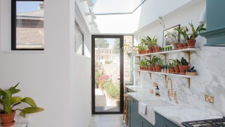Rear extension and refurbishment of a Georgian house in Islington 2